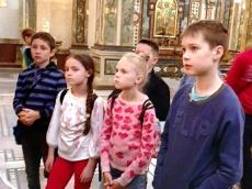 Гимназисты побывали на экскурсии в Храме-Памятнике