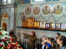 Участники конкурса «Свет Православия» побывали в Доме Милосердия
