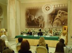 В Белом зале Храма-Памятника состоялась пресс-конференция, посвященная международному проекту «Дни Святителя Луки» в Беларуси