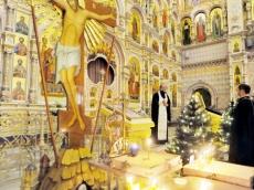 Сочельник в Храме-Памятнике 2021
