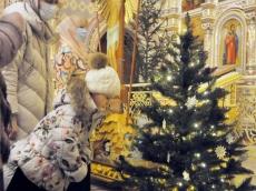Ночная Рождественская литургия 2021