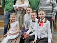 Выступление Детско-юношеского хора Всехсвятского прихода