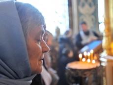 Престольный праздник в приделе в честь иконы Богородицы «Утоли моя печали»