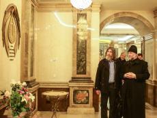 Федор Конюхов помолился в Крипте за своих дедов и прадедов