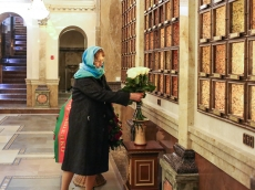 Посол Эстонии госпожа Мерике Кокаев посетила Храм-Памятник