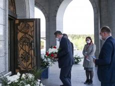 Посол Польши посетил крипту Храма-Памятника в честь Всех Святых