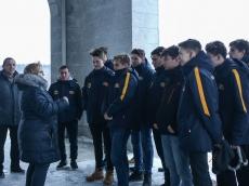 Экскурсия для сборной по водному поло из Молдовы
