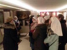 Сестры милосердия из Белозерска посетили Храм-Памятник