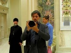 14 мая 2018 года Храм-Памятник посетил знаменитый фотограф из Швейцарии Николя Ригетти