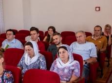 """Представители молодёжного движения """"AGIOC"""" Всехсвятского прихода, посетили занятия Летнего богословского института"""