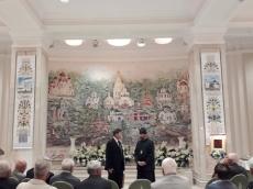 В Храме-Памятнике вручили памятные знаки членам Совета старейшин при Мингорисполкоме