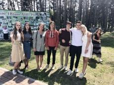 Молодежное движение «AGIOS» побывало в Пинске