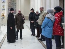 Храм-Памятник посетила делегация