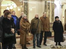 Ветераны Комитета госконтроля посетили Всехсвятский храм