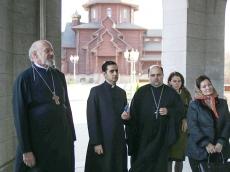 Участники конференции «Митрополит Никодим: путь служения Церкви» побывали во Всехсвятском Храме-Памятнике