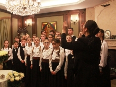 Поздравление Почетного Экзарха митрополита Филарета с торжеством Богоявления и прошедшими светлыми праздниками