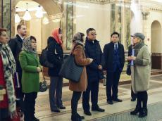 Китайская делегация посетила Храм-Памятник