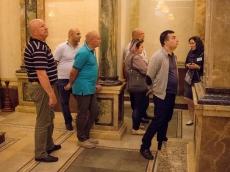 Армянская делегация посетила Всехсвятский Храм-Памятник