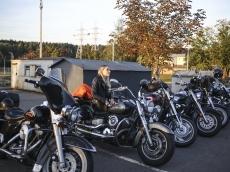 Байкеры почтили погибших товарищей в день памяти погибших мотоциклистов
