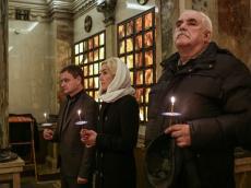 В крипте Храма-памятника в честь Всех Святых почтили память погибших в Первой мировой войне