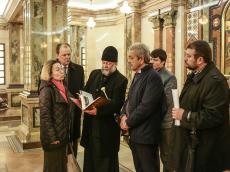 Храм-Памятник посетил докладчик по Беларуси Комиссии ПАСЕ Андреа Ригони