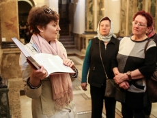 Белорусы Литвы посетили Храм-Памятник
