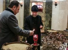 Министр обороны Армении посетил Храм-Памятник