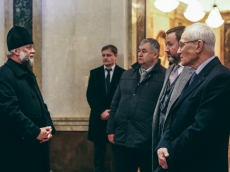 Внук Мустая Карима посетил Храм-Памятник