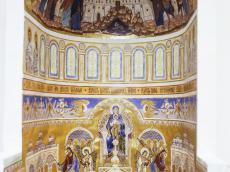 Экспертный совет рассмотрел концепцию росписи внутреннего убранства главного храмового пространства