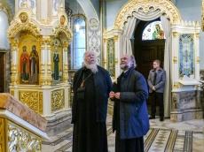 Протоиерей Дмитрий Смирнов посетил Храм-Памятник - фоторепортаж