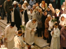 Сочельник в Храме-Памятнике в честь Всех Святых