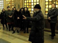 Педагогическая делегация из Вологды посетила Храм-Памятник