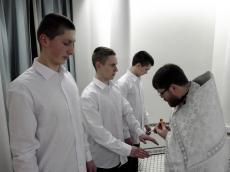 Курсанты познают «Основы христианской культуры»  в храме