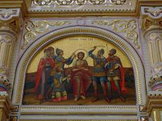 Иконостас главного храмового пространства Храма-Памятника пополнился новыми иконами