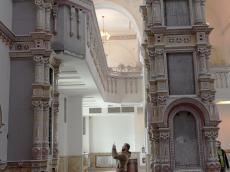 Хор Московского Сретенского монастыря спел тропарь Пасхи в Храме-Памятнике в честь Всех Святых