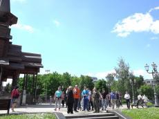 Бригада спецназа Сербии посетила Храм-Памятник