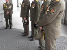 Благодарность от будущих генералов