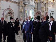 Храм-Памятник гостеприимно встретил Президента Молдовы