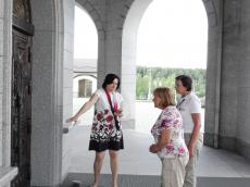«Мы посмотрели сверху Храм-Памятник, и ноги нас принесли сюда сами»