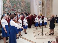 Концерт в Белом зале Храма-Памятника открыл фестиваль-конкурс «Песни, опаленные войной»