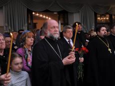 Чин погребения архимандрита Феодосия - фоторепортаж.