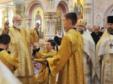 Неделя Всех Святых во Всехсвятском Храме-Памятнике