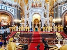 Слово Его Высокопреосвященства митрополита Вениамина по окончании Литургии в Храме Христа-Спасителя в день его возведения в чин митрополита 06 сентября 2020 года