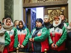 Участники 55-го Звёздного похода БГПУ в Храме-Памятнике